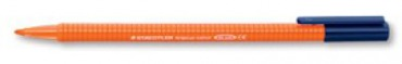323-4 STAEDTLER Fasermaler triplus color, Farbe: orange