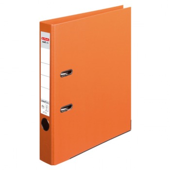 10834869 Herlitz Ordner maX.file orange, 10er Pack