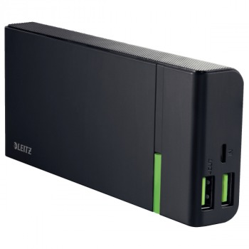 Leitz Complete 2x USB High-Speed Powerbank 10400