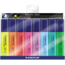 364WP8 STAEDTLER Textsurfer classic Etui in 8 Farben