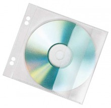 43660 Veloflex CD/DVD Hüllen 1CD 10er Pack