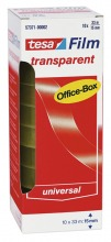 57371 tesafilm, transparent Office-Box, 10er Pack, 33mx15mm