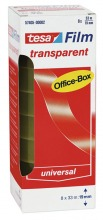 57405 tesafilm, transparent Office-Box, 8er Pack, 33mx19mm
