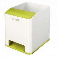 Leitz WOW Sound Stifteköcher Duo Colour grün