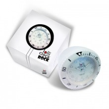 LOLLICLOCK ROCK Uhr weiss, Batterie inklusive, CE, Kunststoff, REFLECTS Verpackung