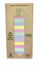 3M654-1RPT Post-it© Recycling Notes Tower, 16er Pack, 76 x 76 mm, 100 Blatt/Block